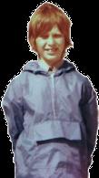 Paul Pepper in cagoule portrait
